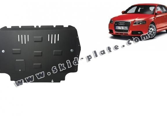 Steel skid plate for Audi A3