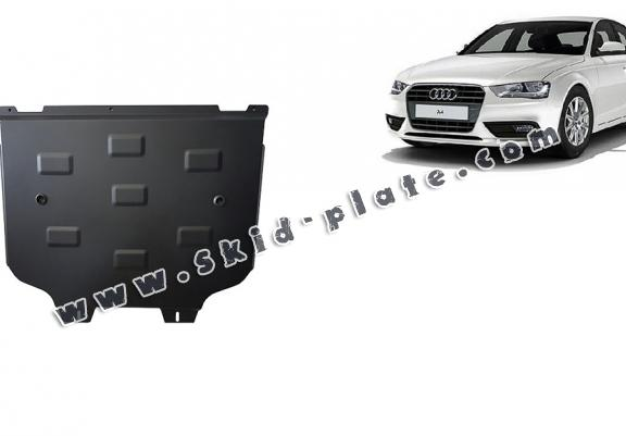 Steel gearbox skid plate for Audi A4