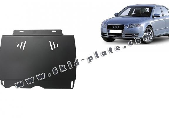 Steel manual gearbox skid plate  Audi A4 3
