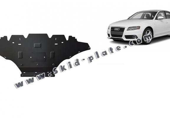 Steel skid plate for Audi A4 4, petrol