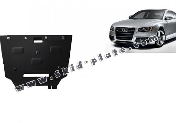 Steel gearbox skid plate for Audi A5