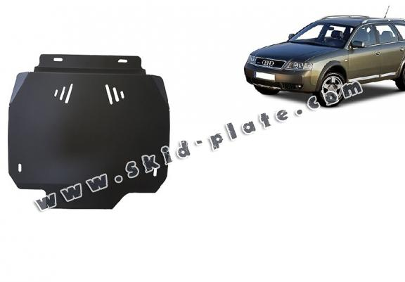 Steel automatic gearbox skid plate forAudi Allroad
