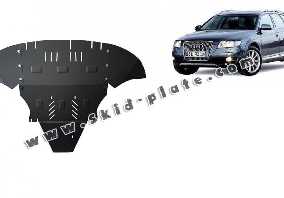 Steel skid plate for Audi Allroad 2 - avec latéraux