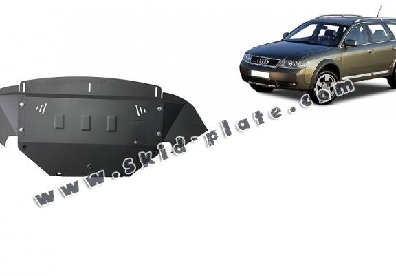 Steel skid plate for Audi Allroad