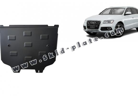 Steel gearbox skid plate for Audi Q5