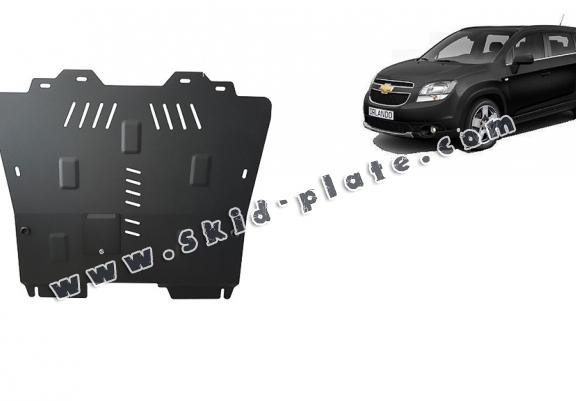 Steel skid plate for Chevrolet Orlando