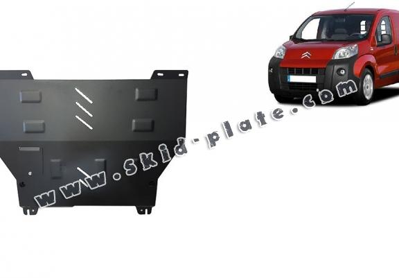 Steel skid plate for Citroen Nemo