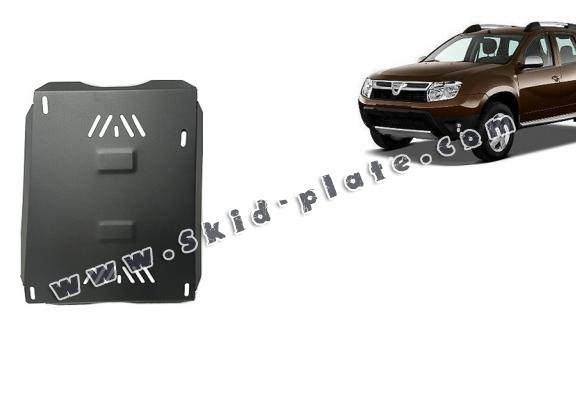 Steel fuel tank skid plate  for Dacia Duster
