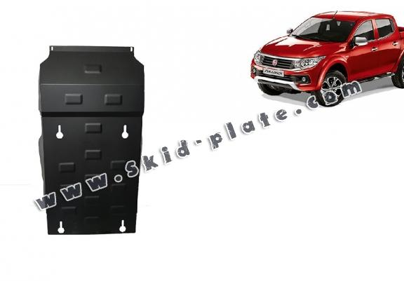 Steel skid plate for Fiat Fullback