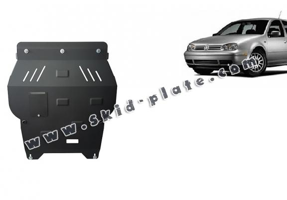 Steel skid plate for golf mk4