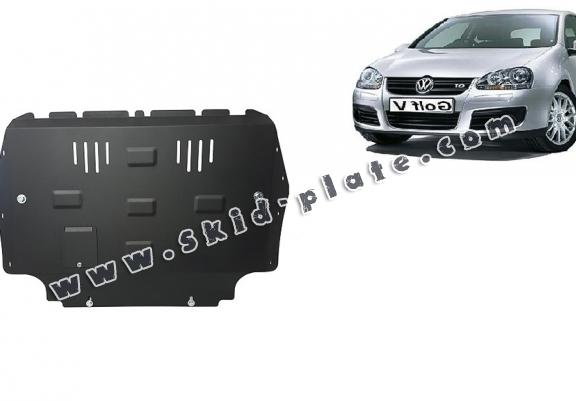 Steel skid plate for Vw golf mk5