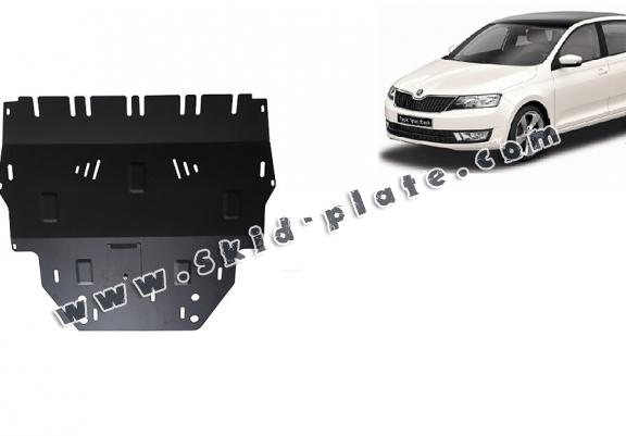 Steel skid plate for Skoda Spaceback