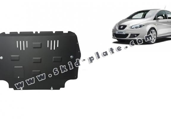 Steel skid plate for Seat Altea