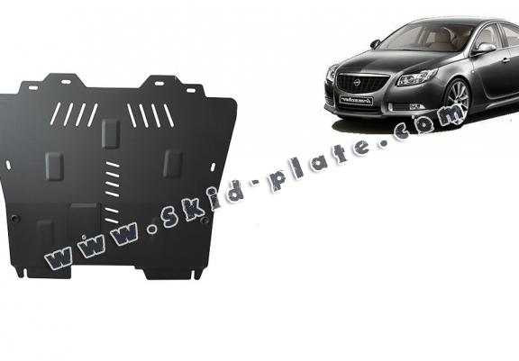 Steel skid plate for Opel Insignia