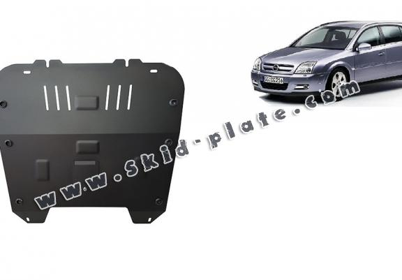 Steel skid plate for Opel Signum