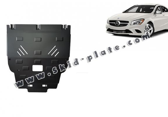 Steel skid plate for Mercedes CLA X117