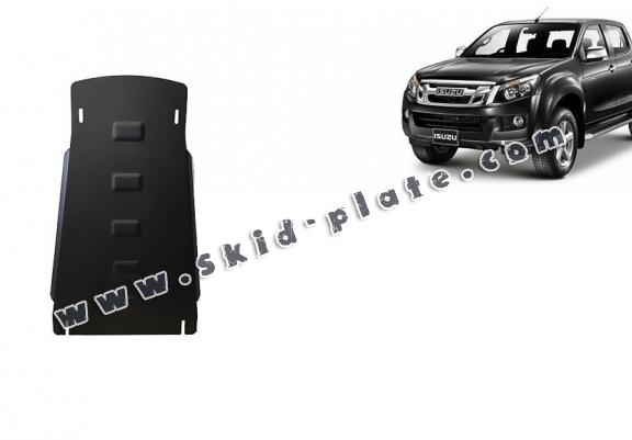 Steel gearbox skid plate for Isuzu D-Max