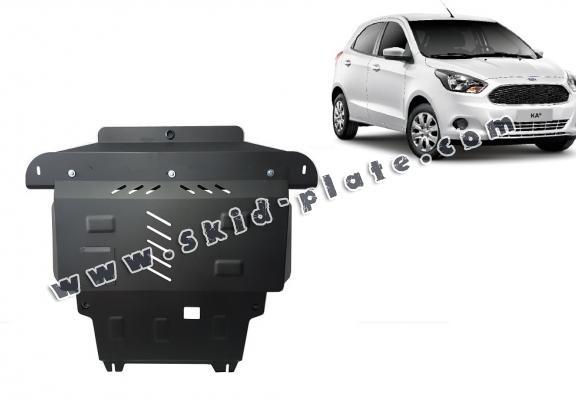 Steel skid plate for Ford KA+