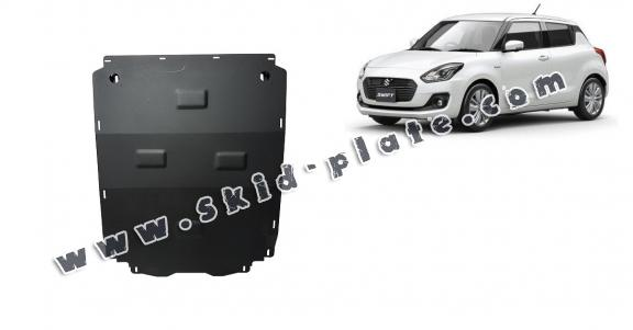 Steel skid plate for Suzuki Swift