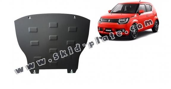 Steel skid plate for Suzuki Ignis