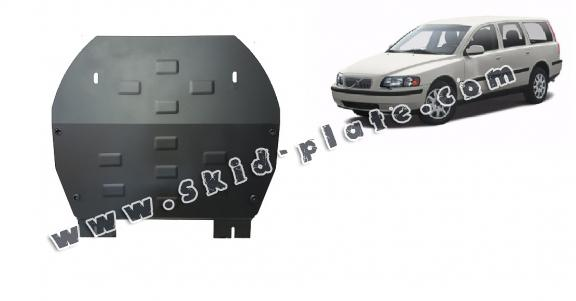 Steel skid plate for Volvo V70