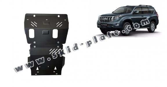 Steel skid plate for Toyota Land Cruiser 150