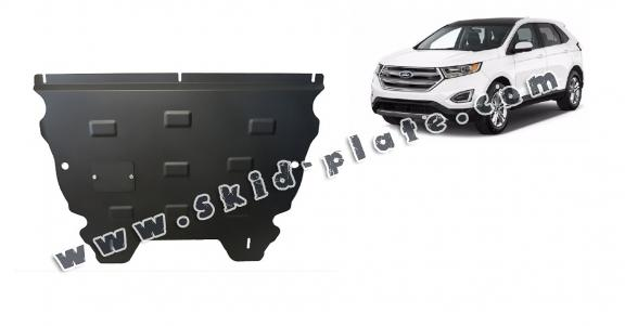 Steel skid plate for the protection of the engine and the gearbox for Ford Edge