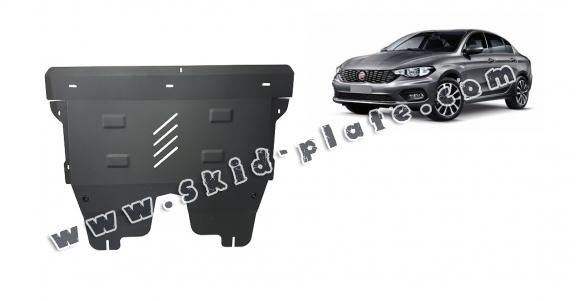 Steel skid plate for Fiat Tipo