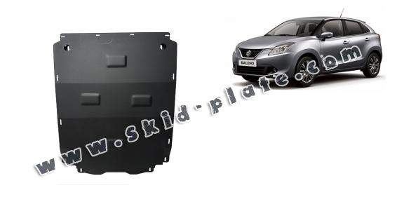 Steel skid plate for Suzuki Baleno