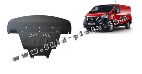 Steel skid plate for Nissan NV300