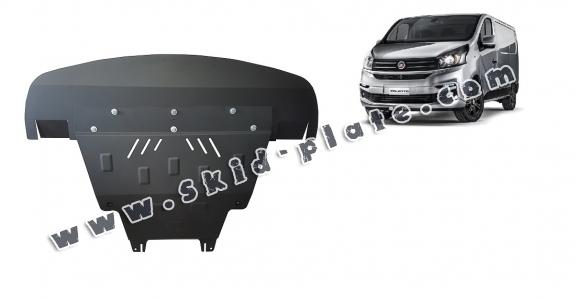 Steel skid plate for Fiat Talento