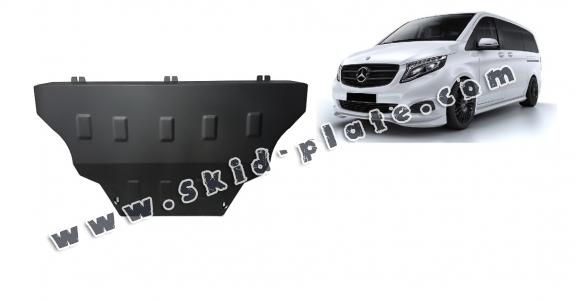 Steel skid plate for Mercedes Viano W447, 4x2, 1.6 D