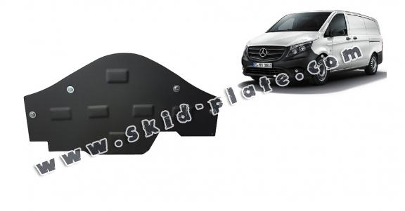 Steel skid plate for the protection of the Stop&Go system Mercedes V-Classe W447, 4x2, 1.6 D