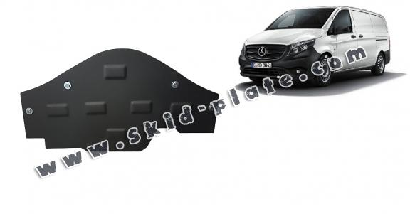 Steel skid plate for the protection of the Stop&Go system Mercedes Vito W447, 4x2, 1.6 D