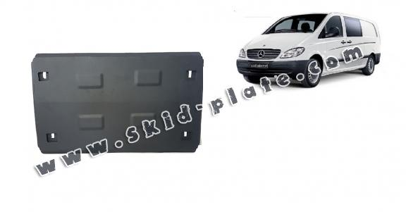 Steel skid plate for  Mercedes Vito W639 - 2.2 D 4x2