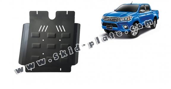 Steel gearbox skid plate for Toyota Hilux Revo