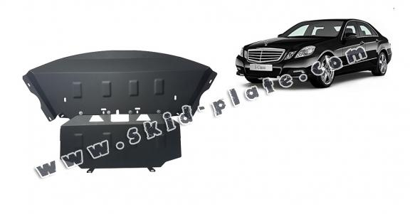 Steel skid plate for Mercedes E-Classe W212