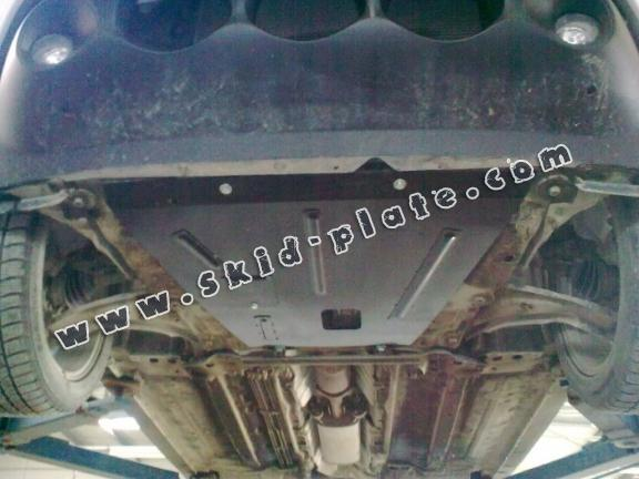 Steel skid plate for Nissan Juke