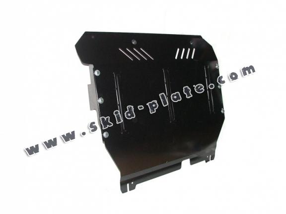 Steel skid plate for the protection of the engine and the gearbox for Ford Transit - RWD