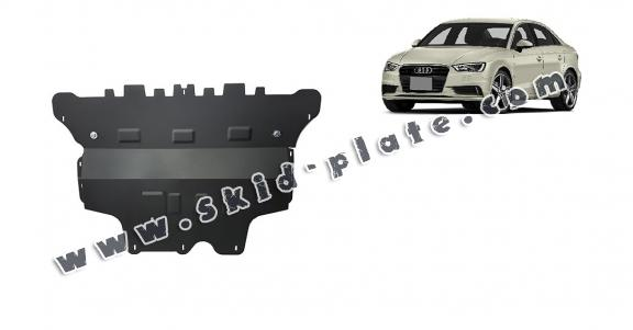 Steel skid plate for Audi A3 (8V)