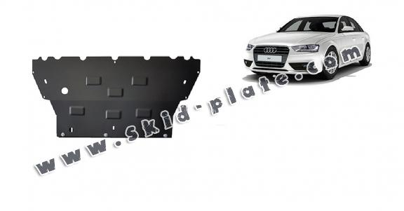 Steel skid plate for Audi A4  B8