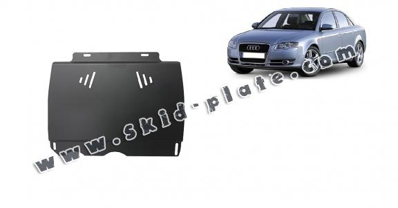 Steel manual gearbox skid plate  Audi A4  B7