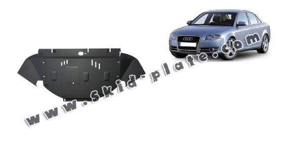 Steel skid plate for Audi A4 B7
