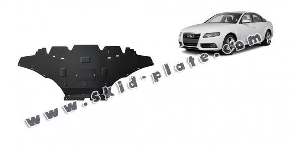Steel skid plate for Audi A4 B8, diesel