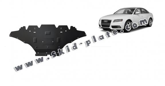 Steel skid plate for Audi A4 B8, petrol