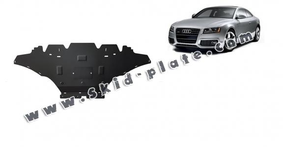 Steel skid plate for Audi A5, diesel