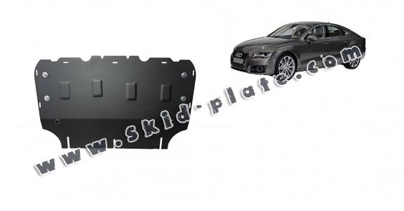 Steel skid plate for Audi A7
