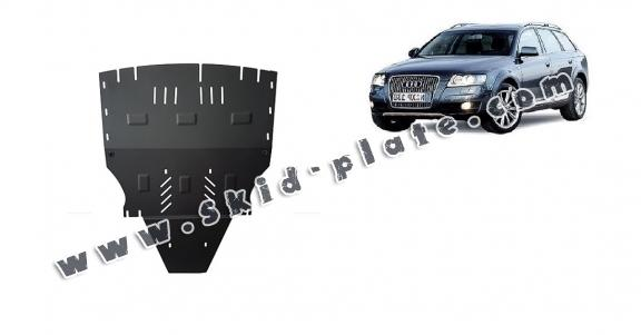 Steel skid plate for Audi Allroad 2 - sans latéraux