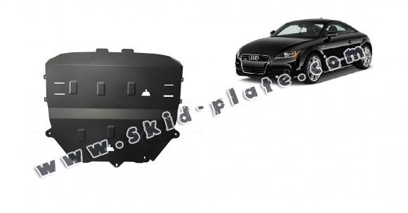 Steel skid plate for Audi TT