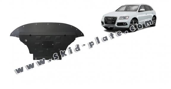 Steel skid plate for Audi Q5